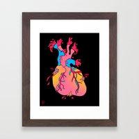 Heartburst Framed Art Print