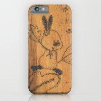 Cute little animal on wood iPhone 6 Slim Case