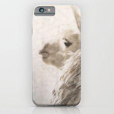 Magical White Alpaca iPhone 6 Slim Case