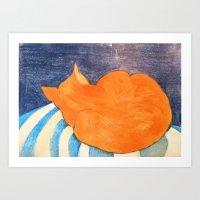 Marmalade Art Print