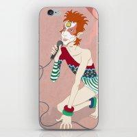 Bowie Ziggy  iPhone & iPod Skin