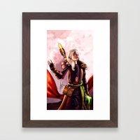 Dragon Age Inquisition - Aspen the elvish mage Framed Art Print