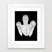 Weight (v2) Framed Art Print