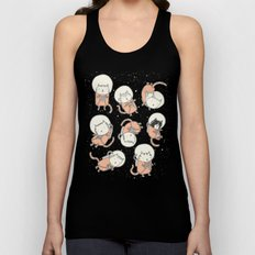 Cat-Stronauts Unisex Tank Top