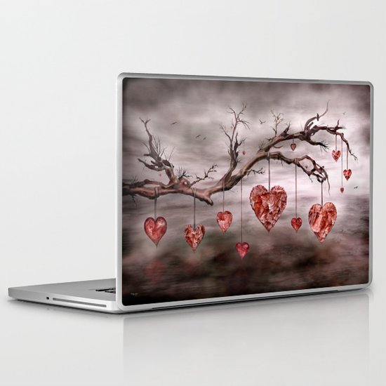 The new love tree Laptop & iPad Skin