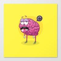 Brain Loading Canvas Print