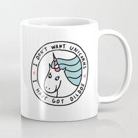 I don't want unicorns Mug