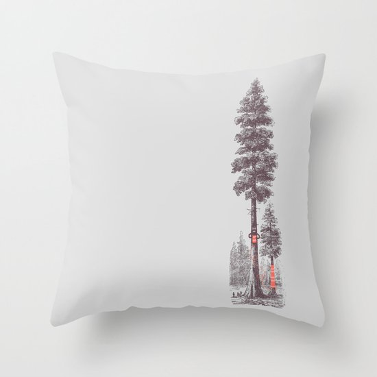 Granny's Hobby Throw Pillow