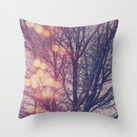 All the pretty lights (2) Throw Pillow