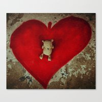 Sharing the Love Canvas Print