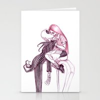 Tombstone Kiss Stationery Cards