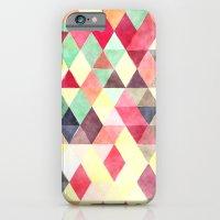 Triangles Colors iPhone 6 Slim Case