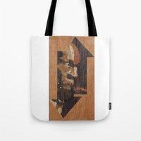 One up One Down Tote Bag