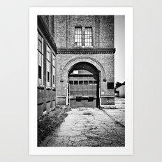 Mono Brick II Art Print