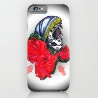 see through skull  iPhone 6 Slim Case