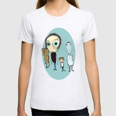 Juan Without Fear And Hi… Womens Fitted Tee Ash Grey SMALL