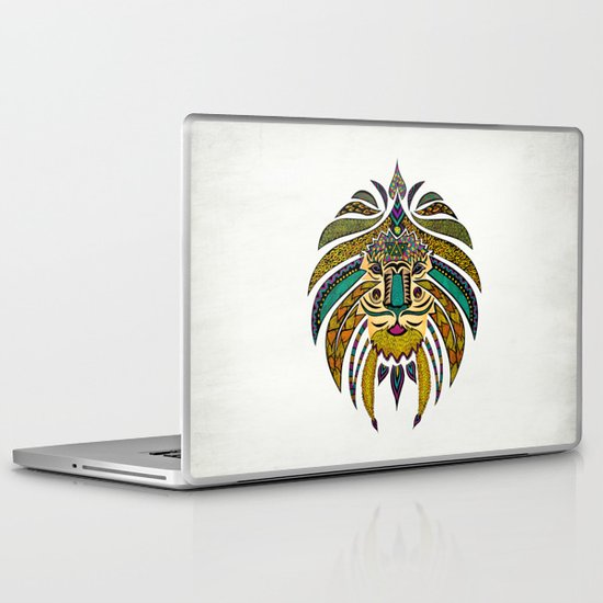 Emperor Tribal Lion Laptop & iPad Skin