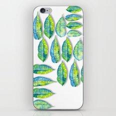 tropic leaf  iPhone & iPod Skin