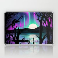 Night With Aurora Laptop & iPad Skin