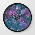 Love of Leaves 2 Wall Clock