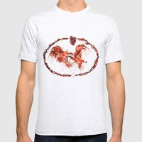 Sanguine Mens Fitted Tee Ash Grey SMALL