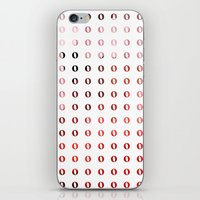 Small circles iPhone & iPod Skin