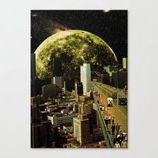 Lunar Connection Canvas Print