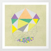 gemstone Art Print
