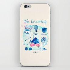 Tea Ceremony iPhone & iPod Skin