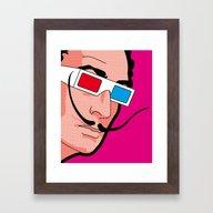 Pop Icon - Savador Framed Art Print