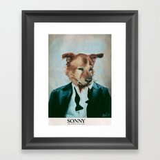 Sonny Framed Art Print