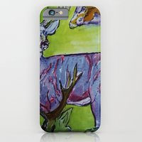 iPhone & iPod Case featuring deer by Dan Feit