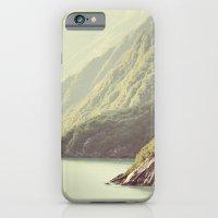 Alaskan hills fading iPhone 6 Slim Case