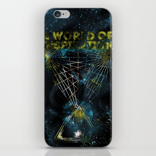 A World of Inspiration iPhone & iPod Skin