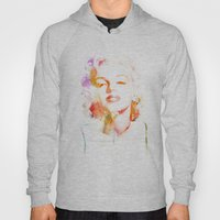Marilyn Monroe Watercolo… Hoody