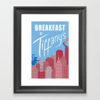 Breakfast at Tiffany's Framed Art Print