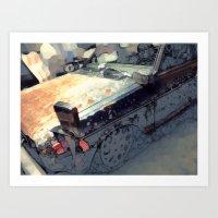 Datsun Art Print