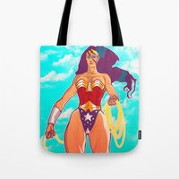 Strolling Strength Tote Bag