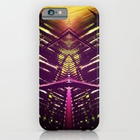 iPhone & iPod Case featuring kaleidoscope palm by 4blankwalls