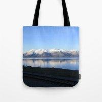 The Alaskan Railroad Tote Bag