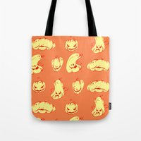 Crazy Pumpkin Party Tote Bag