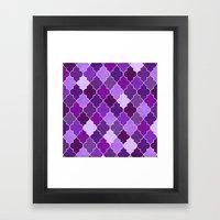 Morocco Orchid Framed Art Print