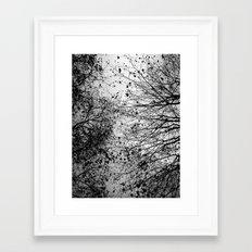 Branches & Leaves Framed Art Print
