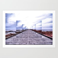 Lytham Feedback Art Print