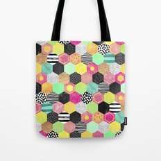 Color Hive Tote Bag