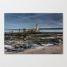 Across the Beach Canvas Print