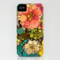 Perky Flowers! iPhone (4, 4s) Slim Case