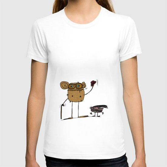 - thinking about family - T-shirt