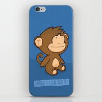 Happiness Is A Clear Nig… iPhone & iPod Skin