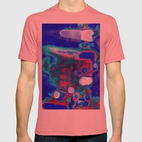 Creating A Universe 5 Mens Fitted Tee Pomegranate SMALL